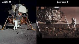 Apollo 11 Capricorn One comparison
